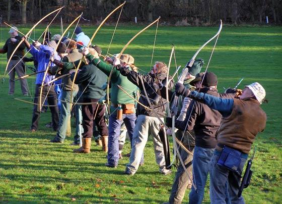Meriden Archery Club Clout